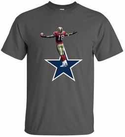 "Terrell Owens 49ers Cowboys ""Star"" T-shirt Youth & Mens size"