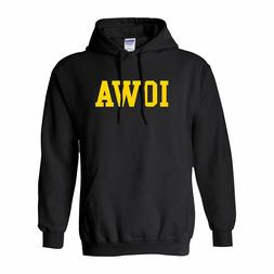 University of Iowa Hawkeyes Basic Block Licensed Hooded Swea