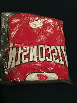Wisconsin Badgers Hoodie New with TAGS!!!  Nice!