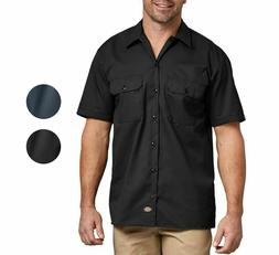 Dickies Work Shirt Flex Men's Button Down Shirt Twill  Wrink