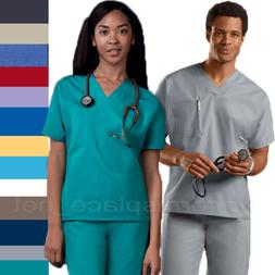 Cherokee Workwear Scrubs Shirts Unisex Men Women V-Neck Tuni