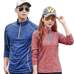 Yoga Clothing T-shirts Lovers Warm Winter Sports Outdoor Fit