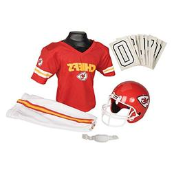Kansas City Chiefs Youth NFL Deluxe Helmet and Uniform Set